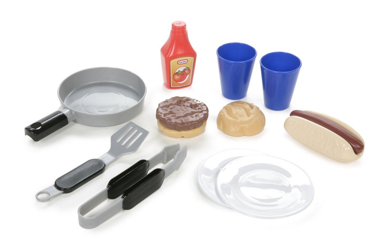 Little Tikes Cook \'n Play Outdoor BBQ™ Kitchen Set & Reviews | Wayfair