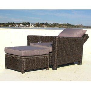 Verstellbarer Sessel Ibiza mit Auflage von Gras..
