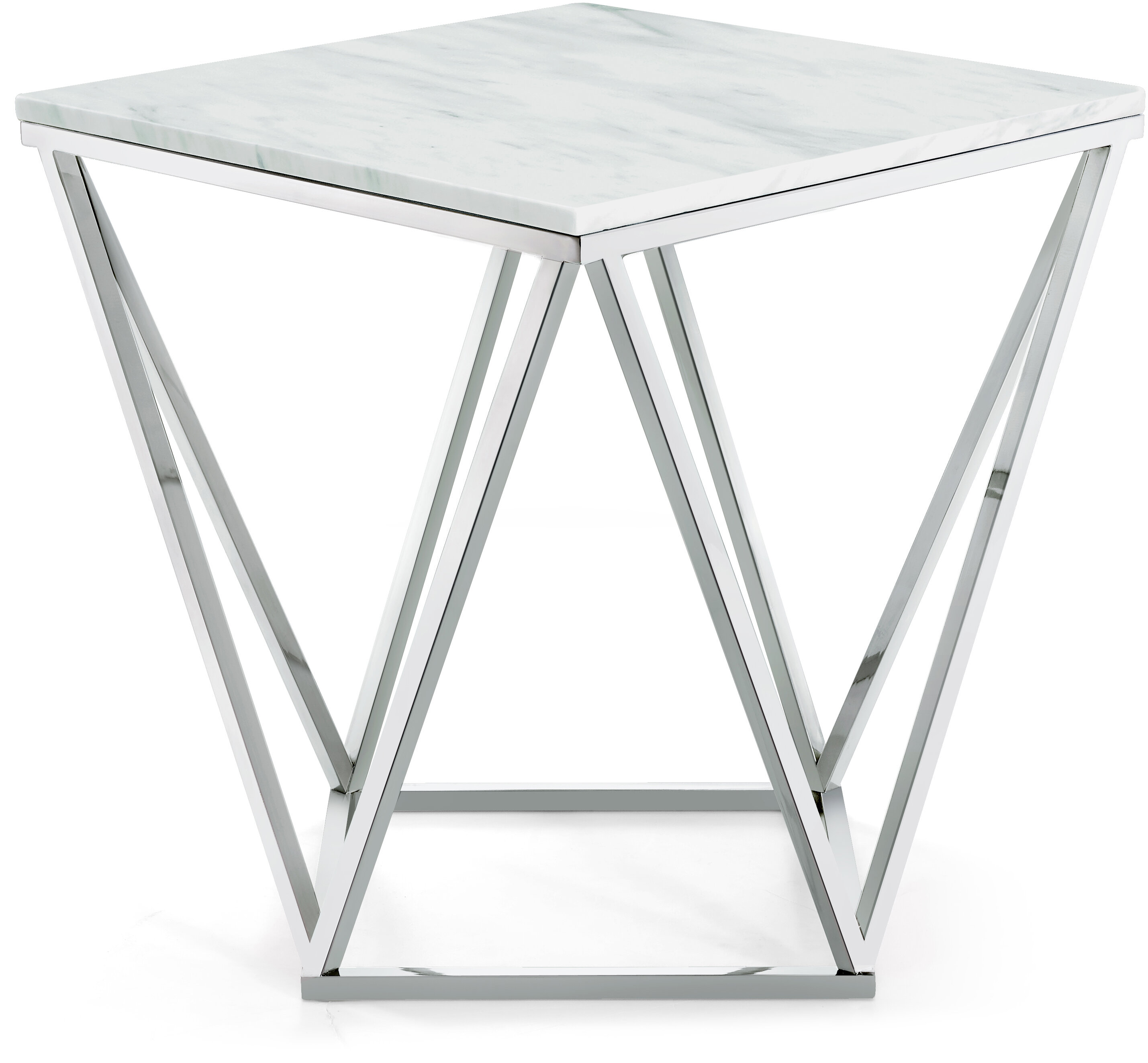 Robeson marble end table reviews allmodern