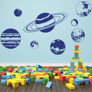 Planet Set Wall Decal Part 41