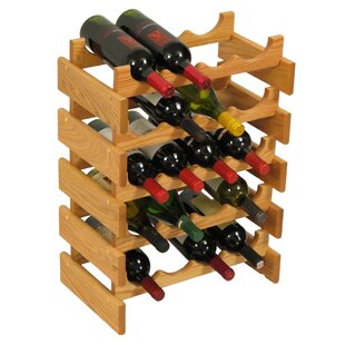 Dakota 20 Bottle Floor Wine Rack