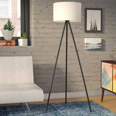Amoralighting tiffany style 62 arched floor lamp reviews wayfair 6125 tripod floor lamp by wrought studio mozeypictures Image collections