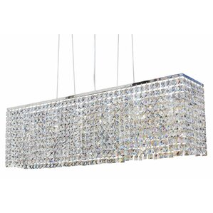 Miami 6-Light Kitchen Island Pendant  sc 1 st  AllModern & Modern Square/Rectangular Shaped Pendant Lighting | AllModern azcodes.com