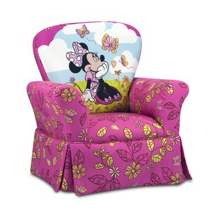 Ordinaire Disney Minnie Mouse Cuddly Cuties Skirted Kids Cotton Rocking Chair