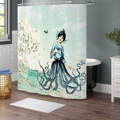 Brayden Studio Ketner Nautical Single Shower Curtain