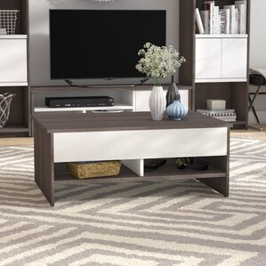 Frederick Storage Coffee Table with Lift Top by Latitude Run