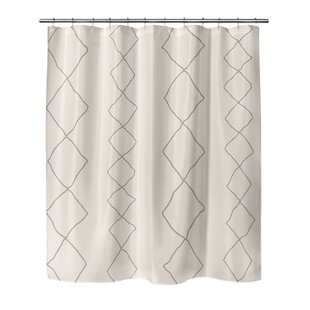 Neihart Diamonds Single Shower Curtain