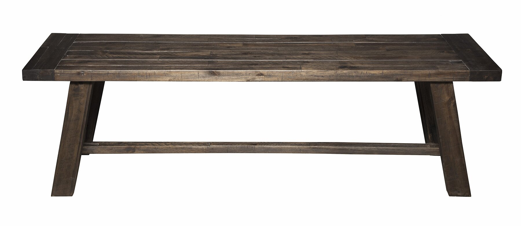 laurel foundry modern farmhouse colborne wood dining bench  - defaultname