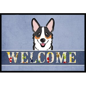 Corgi Welcome Doormat