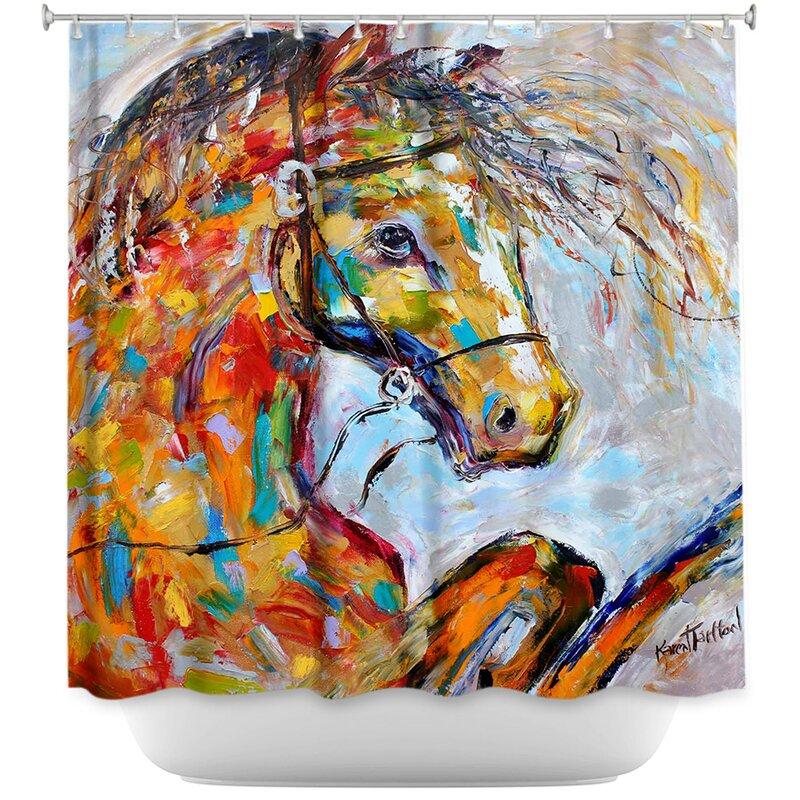 Horse Portrait I Shower Curtain