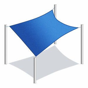 10′ x 6'5″ Rectangle Shade Sail