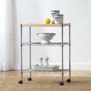 Wayfair Basics Adjustable Kitchen Cart