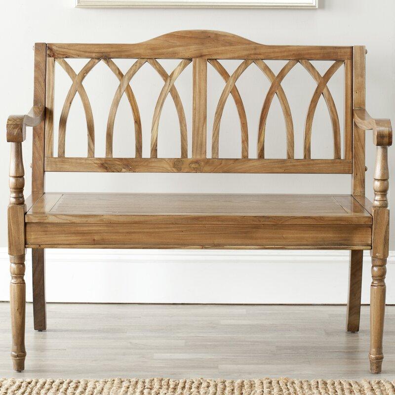 safavieh sitzbank adalyn aus holz bewertungen. Black Bedroom Furniture Sets. Home Design Ideas