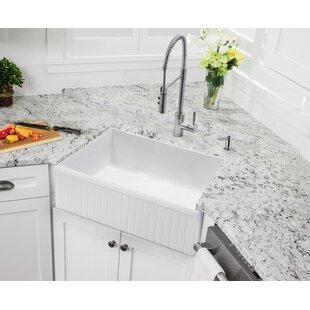 24 Inch Apron Sink | Wayfair
