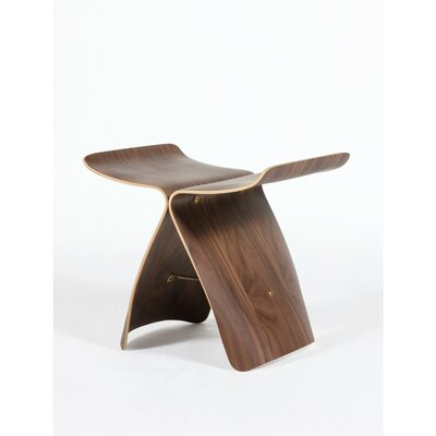 Ted Butterfly Accent Stool Corrigan Studio