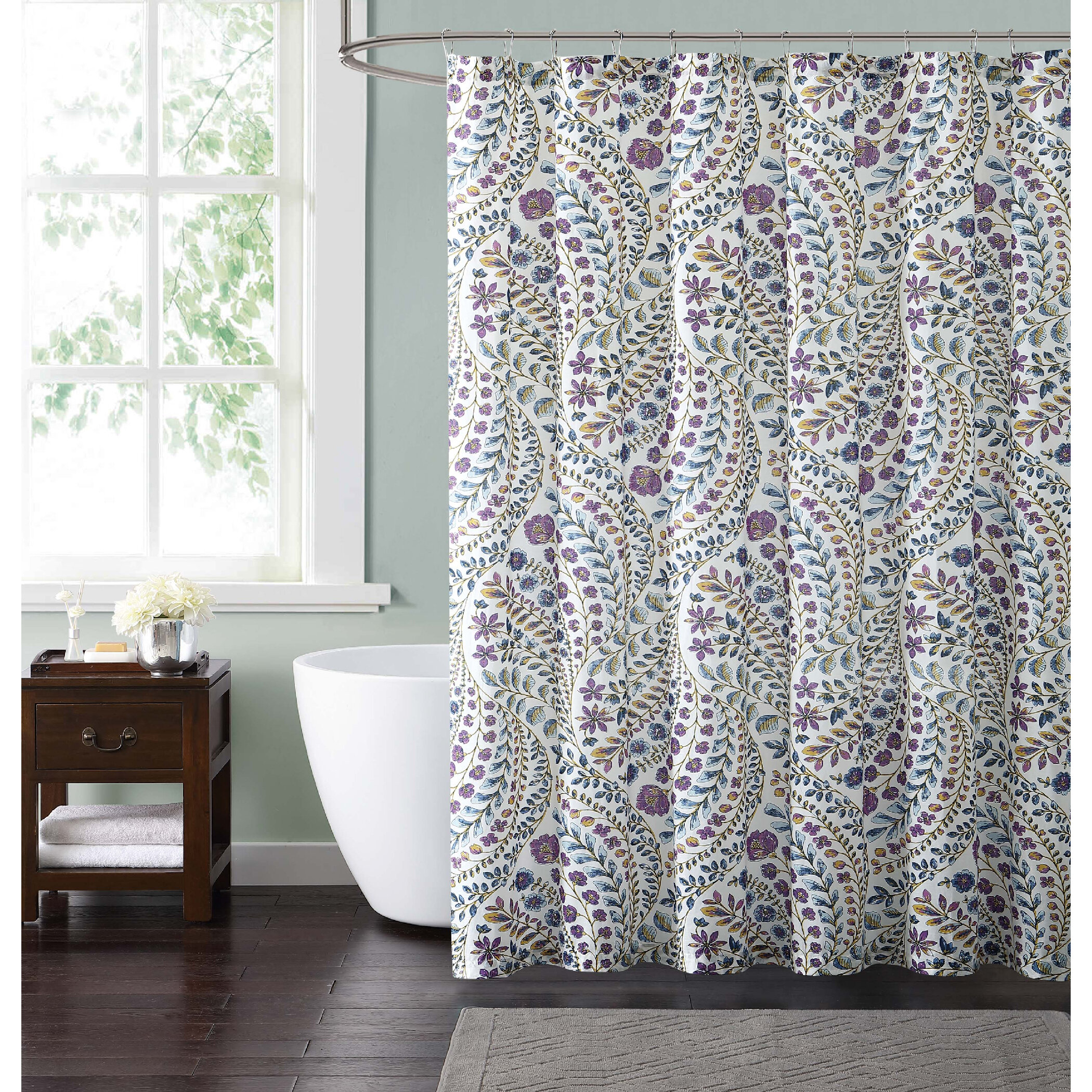lane pdp bed curtain irene bath reviews shower birch