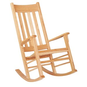 Classic Oak Kids Rocking Chair by ECR4kids