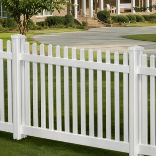 W Traditional Clic Fence Panel