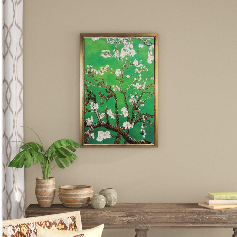 World Menagerie Branches Of An Almond Tree In Blossom By Vincent