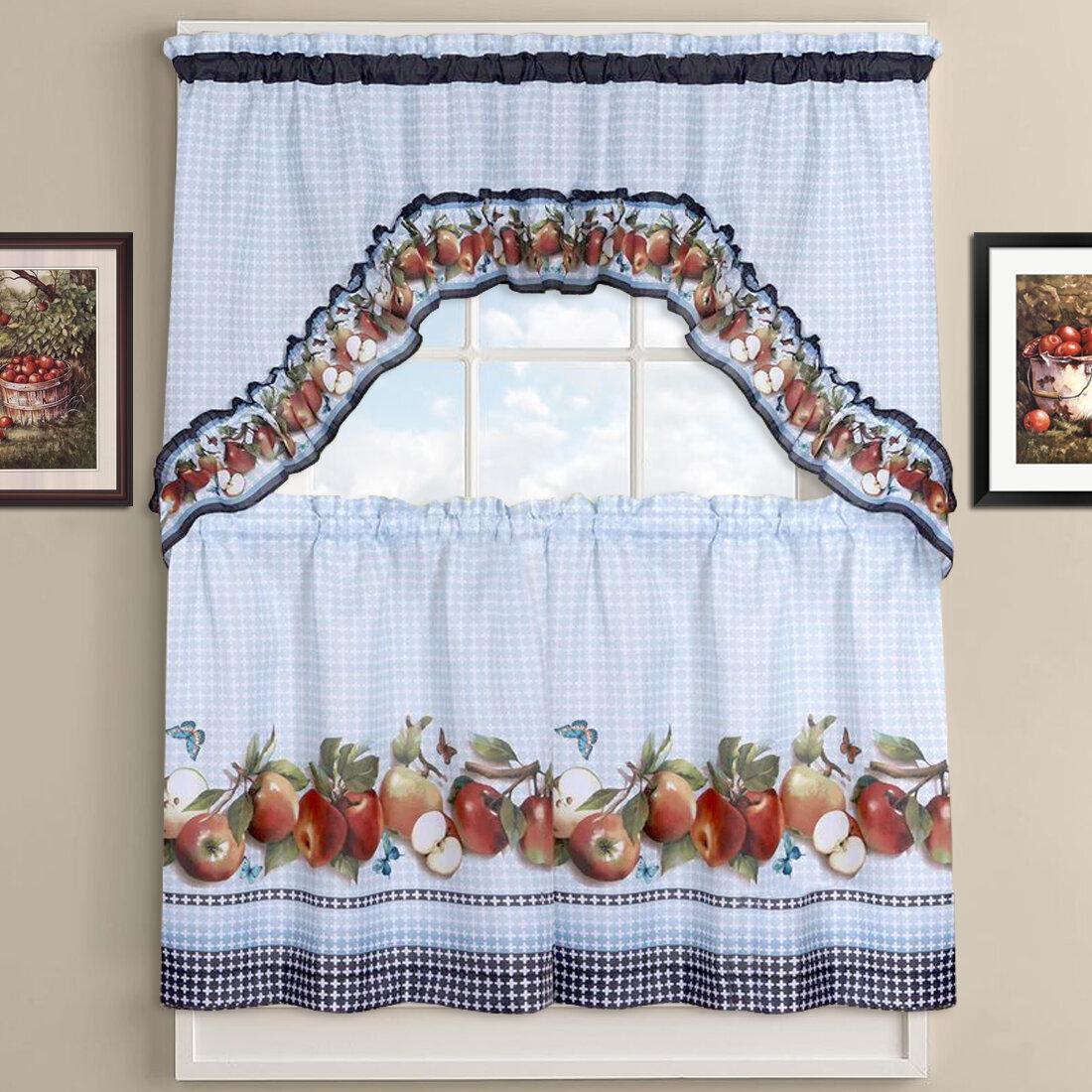 Delicious Les Kitchen Curtains