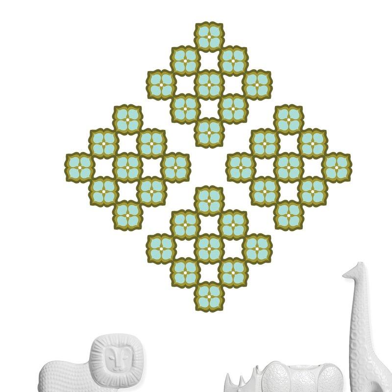 wallpops jonathan adler elephant paisley blox wall decal wayfair. Black Bedroom Furniture Sets. Home Design Ideas