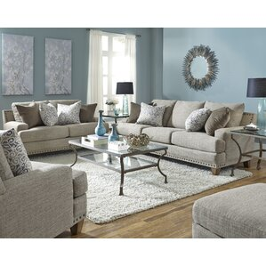 Charming Burke Configurable Living Room Set