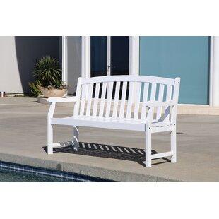 Small White Outdoor Bench Wayfair