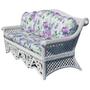 Mathys Traditional Wicker Sofa