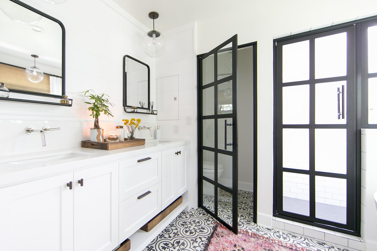 Industrial Bathroom Design Photo by skout