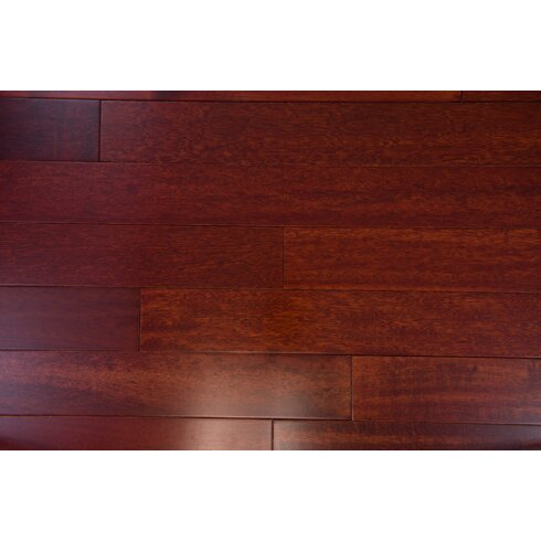 Delicieux SAMPLE   Budapest Engineered Kempas Hardwood Flooring In Sangria