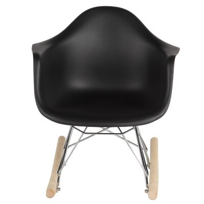 Modern Amp Contemporary Plastic Scoop Rocker Chairs Allmodern