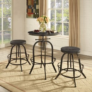 Sylvan 3 Piece Pub Table Set by Modway