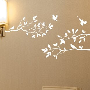 8afd7cc4e4a3 Nature & Flower Wall Decals You'll Love | Wayfair