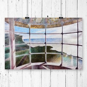 'Window' by Eric Ravilious Painting Print