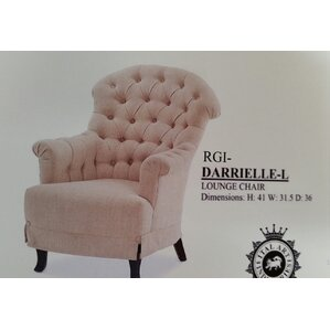darrielle wing back chair