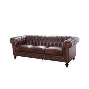 Chesterfield Leather Sofas You\'ll Love | Wayfair