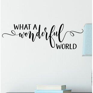 What A Wonderful World   Wayfair ca