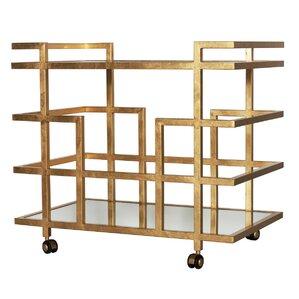 Linear Bar Cart by Worlds Away