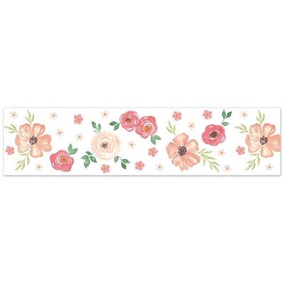 Sweet Jojo Watercolor Floral Wallpaper
