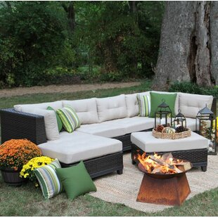 Weirton 4 Piece Sectional With Cushions
