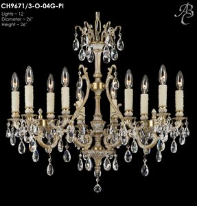 Astoria Grand Sohn 12 Light Candle Style Chandelier Wayfair