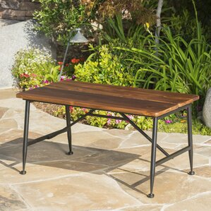 Cabarley Outdoor Wood Coffee Table