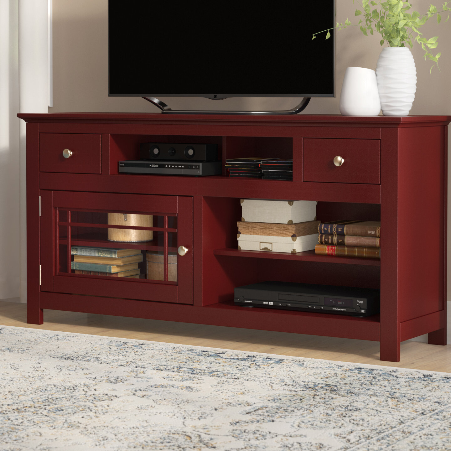 Darby Home Co Julee Tv Stand For Tvs Up