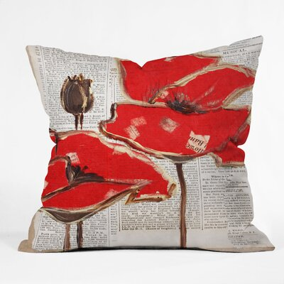 East Urban Home Perfection Outdoor Throw Pillow Size: 26 H x 26 W