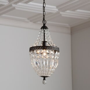 crystal pendant lighting. Evelynne 1-Light Crystal Pendant Lighting P