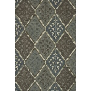 Fairfield Hand-Tufted Gray/Brown Area Rug
