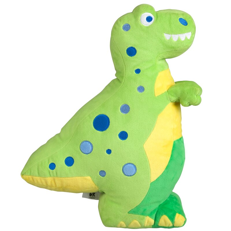 Wildkin Olive Kids Dinosaur Throw Pillow & Reviews   Wayfair