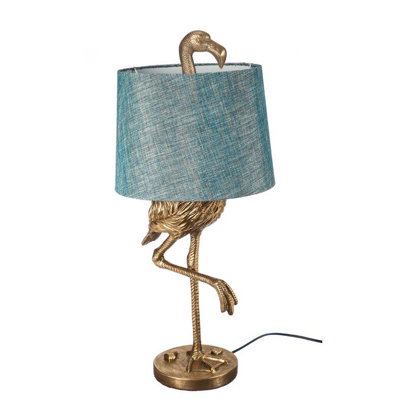 Bay Isle Home Fairlee Flamingo 31 89 Quot Table Lamp Amp Reviews