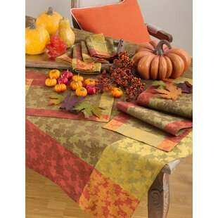 Thanksgiving Tablecloths Table Runners Youll Love Wayfair - Thanksgiving-table-cloth