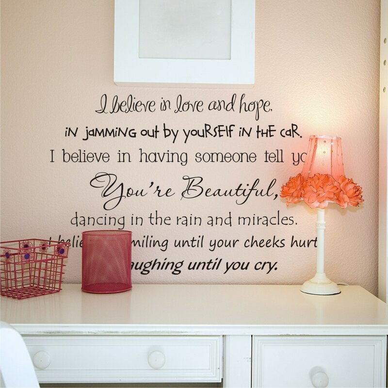 Inspirational Wall Decals Youll Love Wayfair